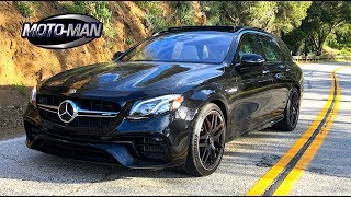 2018 Mercedes AMG E63s Station Wagon FIRST DRIVE REVIEW (2 of 2)