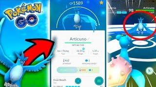 Articuno  - (Pokémon) - FIRST LEGENDARY ARTICUNO FOUND! - Pokemon Go - THIS IS ACTUALLY REAL!