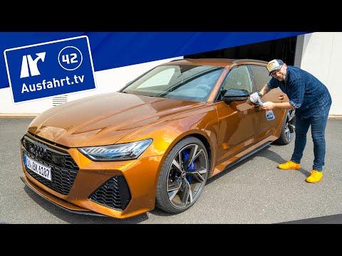 2021 Audi RS6 Avant quattro - Kaufberatung, Test deutsch, Review, Fahrbericht Ausfahrt.tv