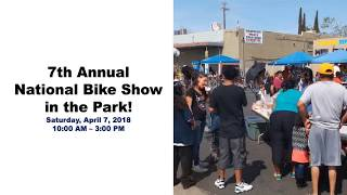 National bike show encourages the community to march through the neighborhood to say no to violence