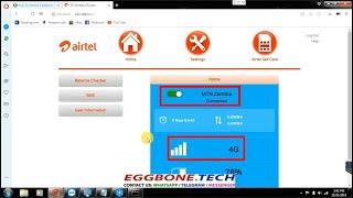 How to unlock Airtel VIDA M2 / L02H LTE MiFi Router