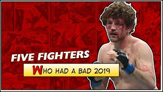 Five MMA Fighters Who Had A Bad 2019