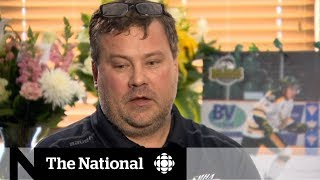 Father of Humboldt Broncos bus crash victim opens up about family's loss