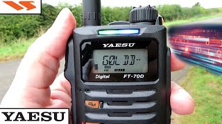 THE BEST VALUE HT EVER MADE? RADIO TO RADIO IN ALL MODES WITH THE YAESU FT-70DE
