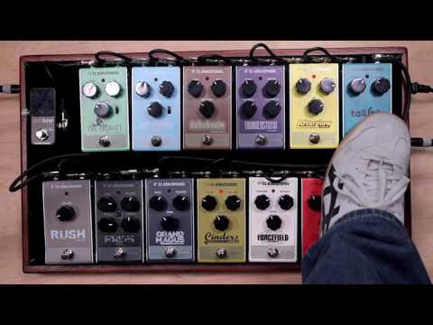 TC Electronic Smorgasbord full line of pedals