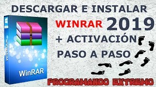 DESCARGAR WiNRaR FULL 2019 + ACTIVADOR WINDOWS 10/8.1/8/7 | 32 Y 64 BITS