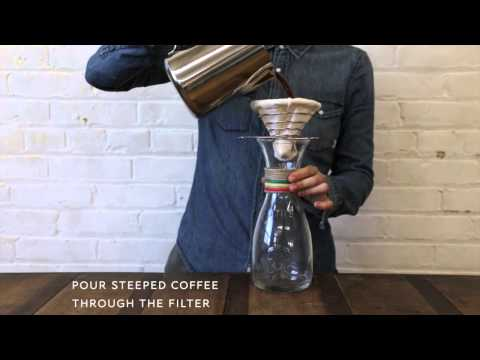 Steep & Filter® Coffee Brewing - Great Coffee Made Simple