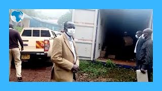 Marsabit County receives consignment of sanitizers for distribution