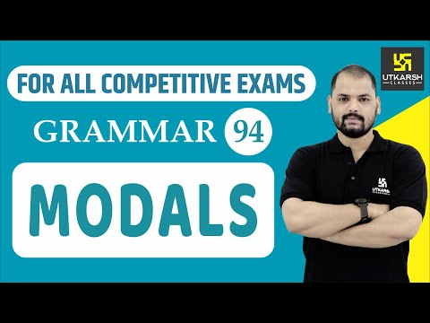 Modals | English Grammar | For All Competitive Exams |  EP-94 | By Ravi Sir