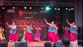Bollywood & El Salvadorean Dancers Diwali 2012