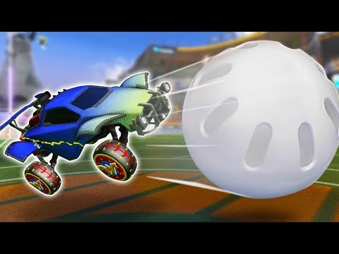 Wiffle Ball in Rocket League made us cry-laugh!