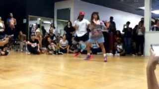Kaelynn Harris- Baby Qah Anthem Choreography. (Bea...