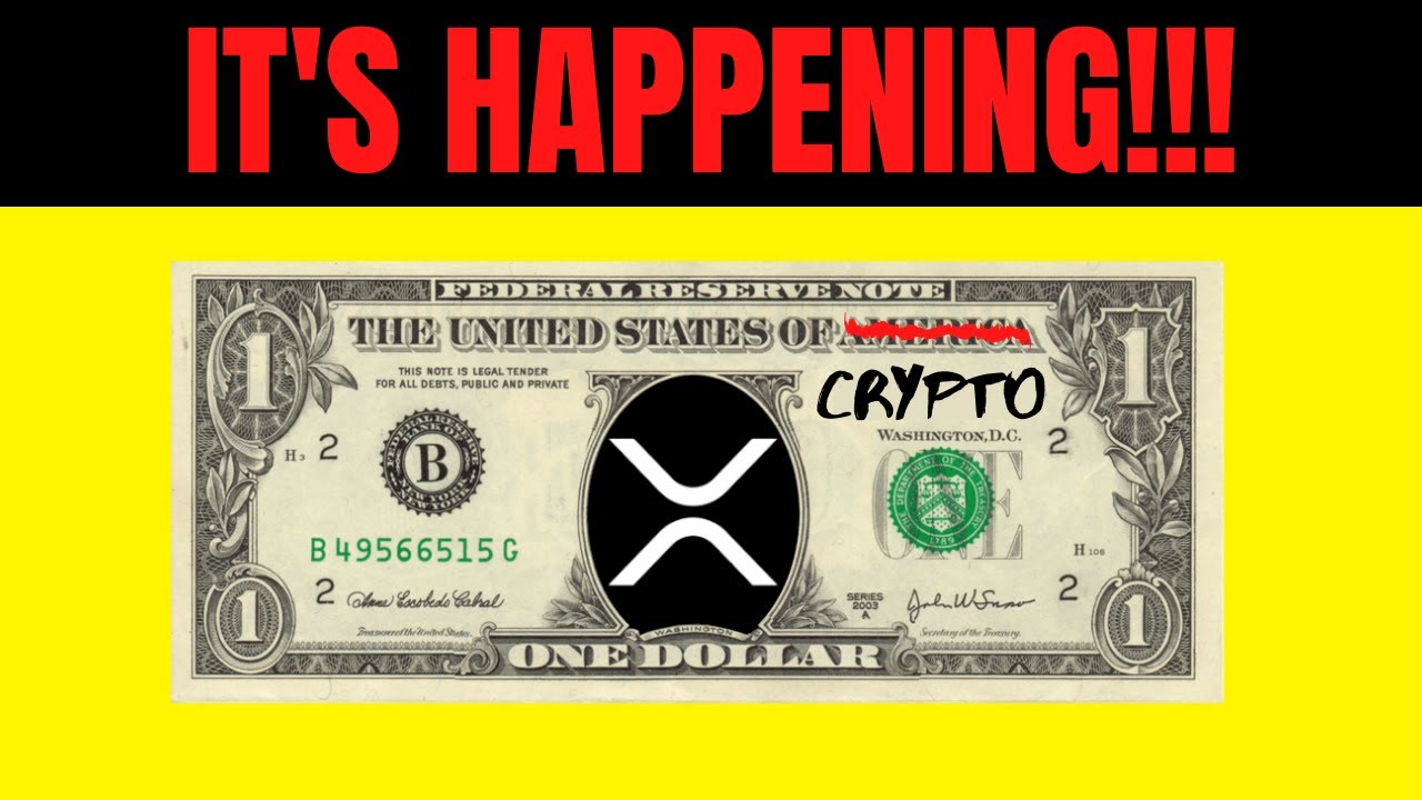 HUGE XRP & ETHEREUM NEWS!!!! FEDERAL RESERVE TESTING 30-40 DIFFERENT CRYPTO BLOCKCHAINS