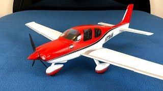 E-flite UMX Cirrus SR22T BNF Basic RC Plane Unboxing & Review