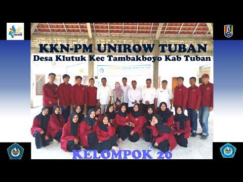 KKN-PM UNIROW 2019 DESA KLUTUK KEC TAMBAKBOYO