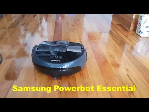 Samsung Powerbot Essential Robotic Vacuum Review [VR2AJ9020UG]