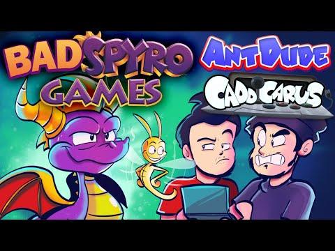 Bad Spyro the Dragon Games ft. Caddicarus - AntDude