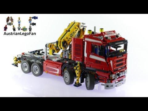 Vidéo LEGO Technic 8258 : Le camion-grue