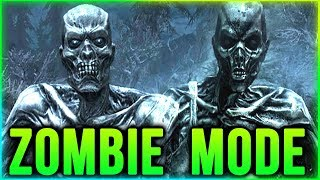 Skyrim ZOMBIE HORDE MODE Walkthrough – Creation Club Mods - DON'T BUY IT!
