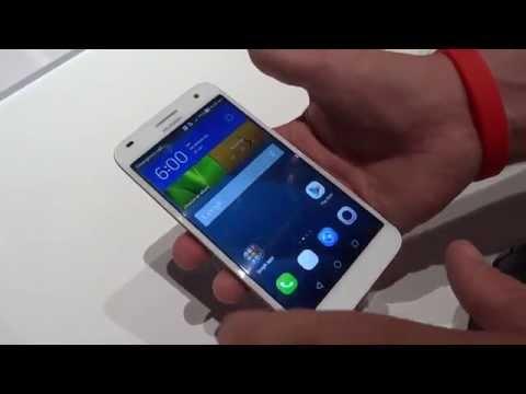 Huawei Ascend G7, prime impressioni