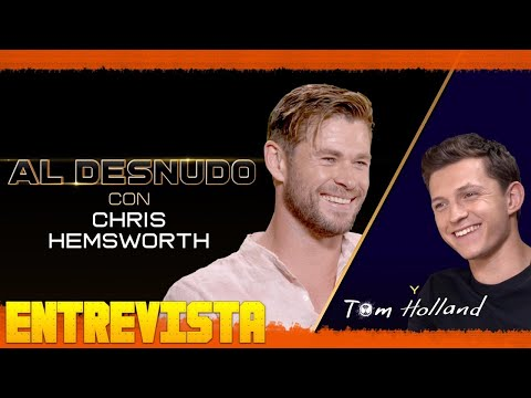 Spider-Man: Lejos De Casa y MIB: International Entrevista (Chris Hemsworth y Tom Holland) Subtitulad