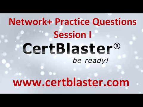 Network+ Practice Test Session I - YouTube