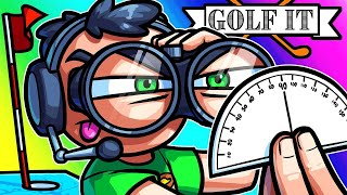 Golf It Funny Moments - Aiming for Secret Holes!! (50 Hole-in-one Map)