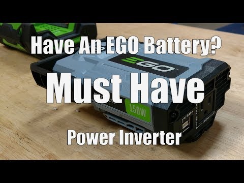 Have An EGO 56-Volt Battery?  You Will Want This!  EGO Nexus Escape Power Inverter PAD1500