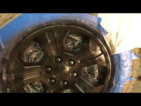 Chevrolet Silverado: How to Plasti dip wheels on truck.