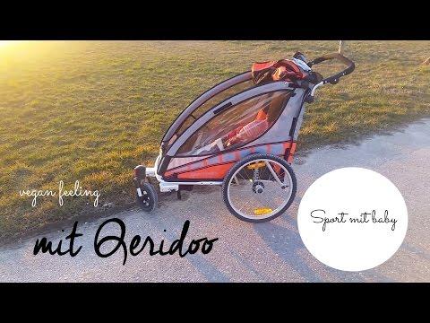 Sport mit Baby- Qeridoo Jogger und Radanhänger