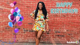 IT'S GABRIELLE'S BIRTHDAY!! 🎉