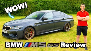 The BMW M5 CS is pure M Car GOLD!