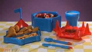 Castle Dinner Set - Childs Dinnerware That Looks Like A Castle