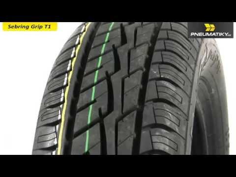 Youtube Sebring Grip T1 165/70 R14 81 T Letní