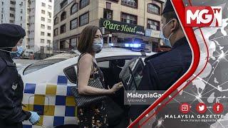 TERKINI : 'Hoi Stupid Idiots!'… PADAH Wanita Maki Polis