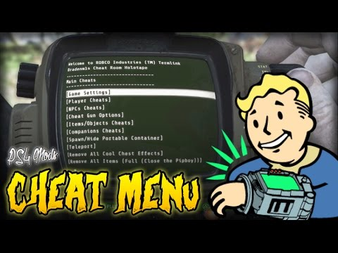 Fallout 4 - BEST CHEAT MOD EVER! - Cheat Room (PS4 Mods Showcase)
