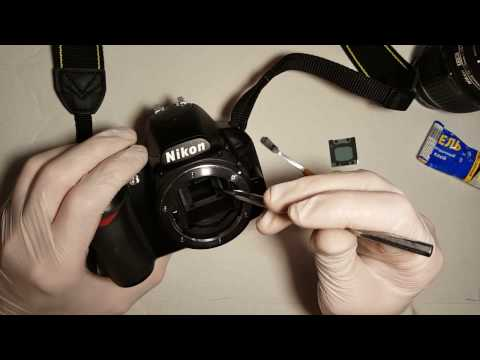 Ремонт зеркала Nikon D3100 (Fix Mirror Nikon D3100)