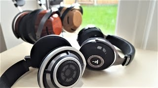 Comparison: ZMF Eikon/ZMF Atticus/Sennheiser HD800 & Focal Elear Headphones