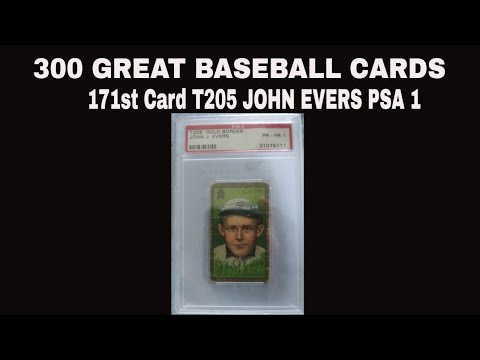 300 Great Baseball Cards-Tinker to Evers to Chance