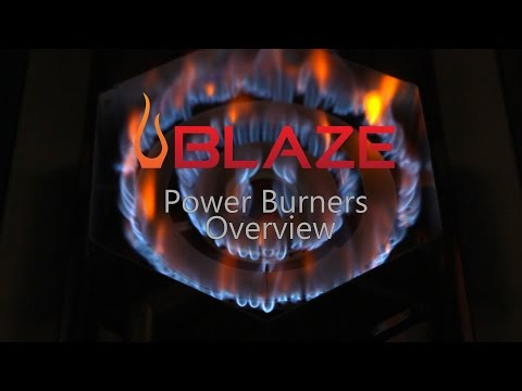 Blaze Power Burners