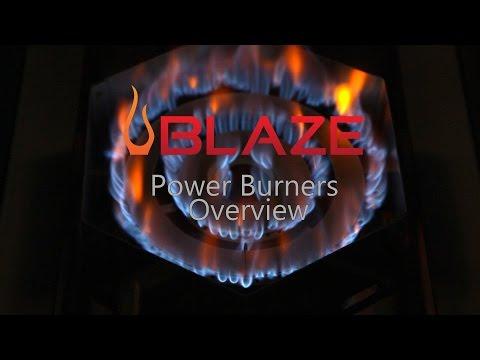 Blaze Power Burners