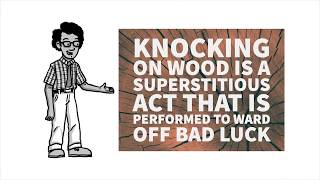 The Real Reason Why We Knock On Wood