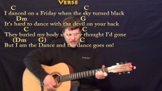 Lord of the Dance (Hymn) Strum Guitar Cover Lesson in C with Chords/Lyrics
