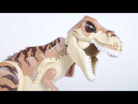 Lego Jurassic World Sets and Dinosaurs - Review, Portraits, and Value