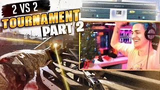WE CAN WIN THIS?! | 2v2 TOURNAMENT W REVERSE2K (PART 2)