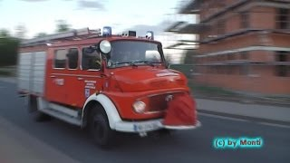 preview picture of video 'PKW Fahrer ignoriert Sondersignal// LF 8 FF Wolfenbüttel OW Fümmelse (HD)'