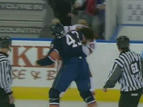 Dan Carcillo vs Jason Strudwick