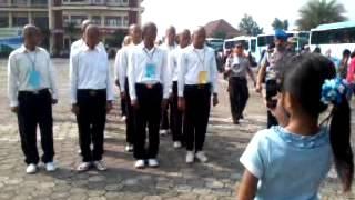 preview picture of video 'siswa tamtamta dan bintara polda banten'