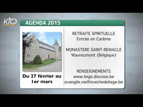 Agenda du 13 février 2015