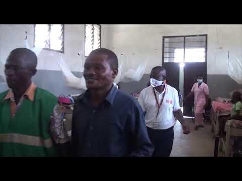 Remise des kits de dignité aux femmes opérées de la fistule à l'HGR de Kisangani